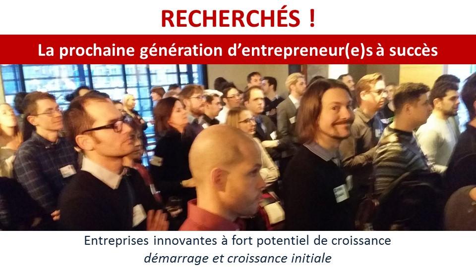 RECHERCHÉS ! La prochaine génération d'entrepreneurs à succès