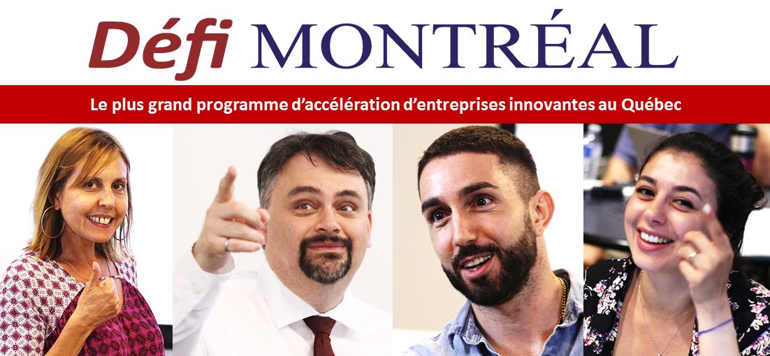 Le plus grand programme d'accélération d'entreprises innovantes au Québec