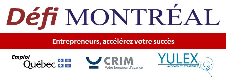 Partenaires Défi Montréal : Emploi Québec, CRIM et Yulex
