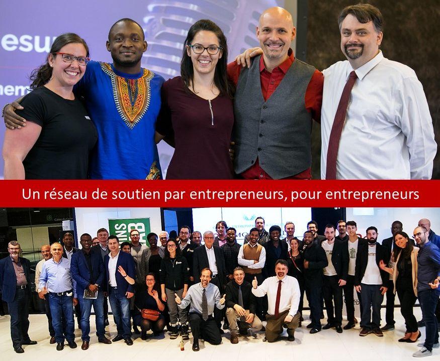 Un réseau de soutien par entrepreneurs pour entrepreneurs